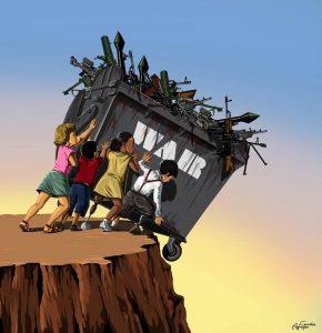 War And Peace by Gunduz Aghayev